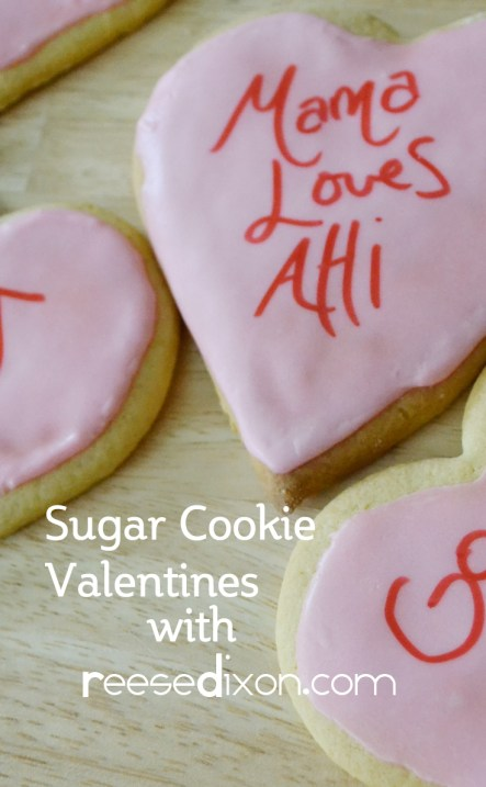Sugar Cookie Valentines