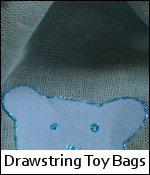 Drawstring Toy Bags
