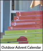 Outdoor Advent Calendar