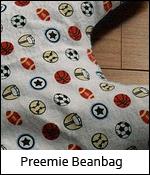 Preemie Beanbag
