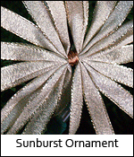 Sunburst Ornament