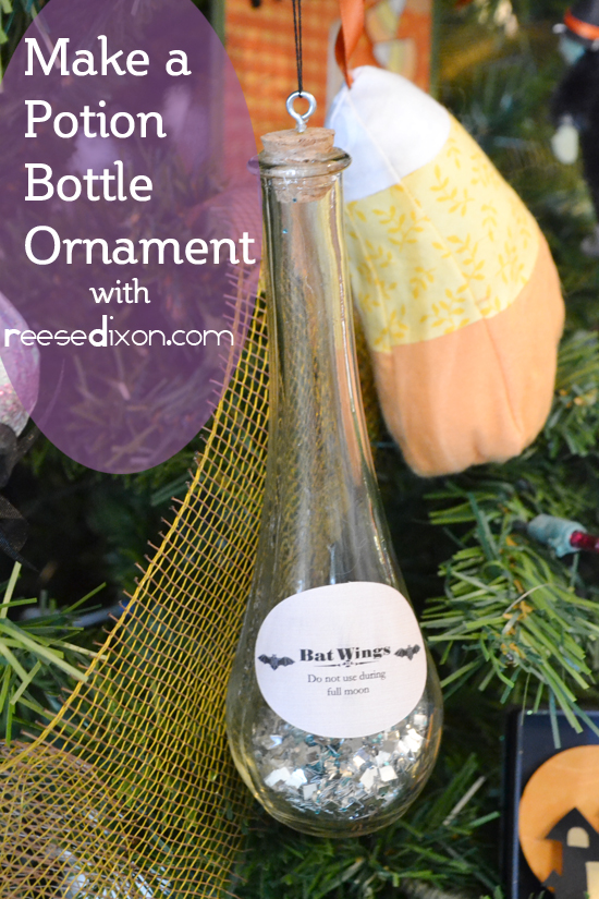 Potion Bottle Ornament
