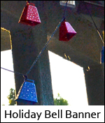 Holiday Bell Banner