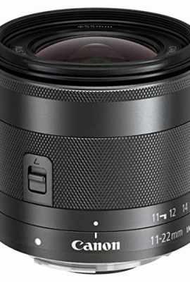 Canon-EF-M-11-22mm-f4-56-IS-STM-Obiettivo-Grandangolare-Stabilizzatore-IS-Compatibile-con-Innesto-EF-M-Nero-0