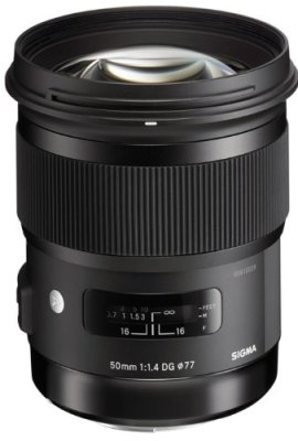 Sigma-Obiettivo-50mm-F14-A-AF-DG-HSM-Attacco-Nikon-Nero-0