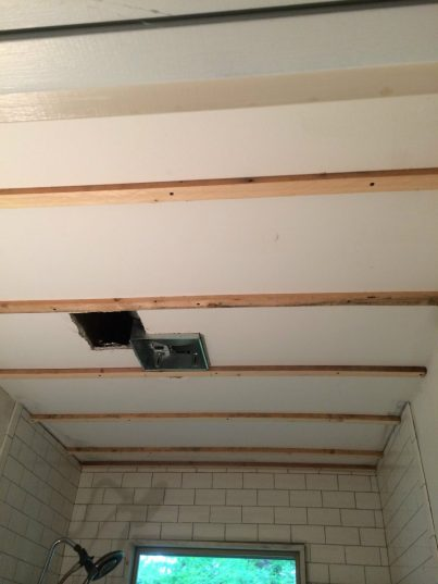 how to install a barn wood ceiling