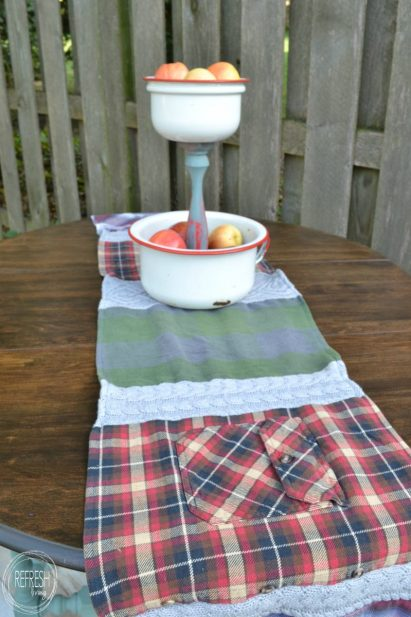 flannel table runner