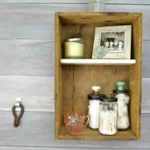 easy and cheap bathroom storage