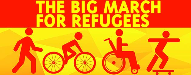 The Big March for Refugees