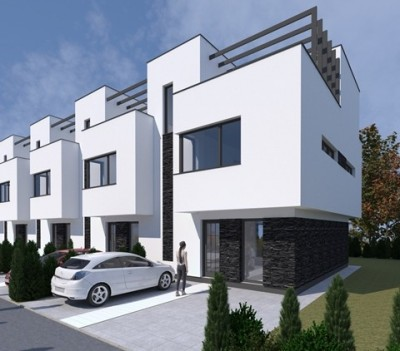 Houses for sale Pipera Bucharest  Romania   Regatta Real Estate House for sale 4 rooms Pipera Aviatiei area  Bucharest 145 sqm