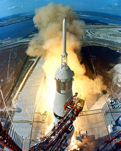 Saturn V and Apollo 11