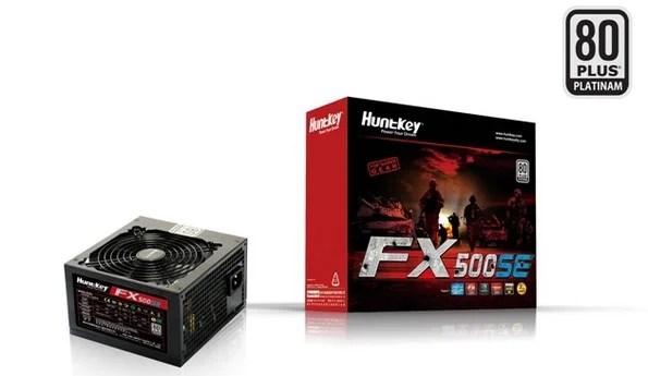 Huntkey serie FX: nuovi PSU 80 Plus!