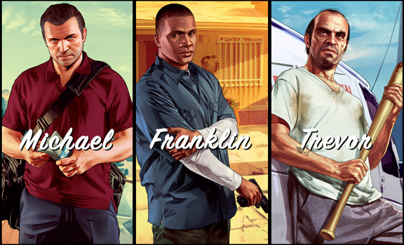 Triplice trailer per Grand Theft Auto V!
