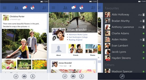Facebook 5.0 disponibile la versione stabile per Windows Phone