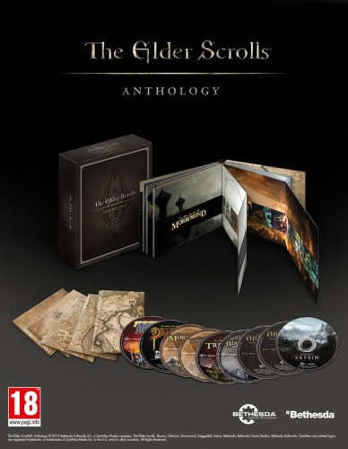 The Elders Scrolls Anthology anche in europa