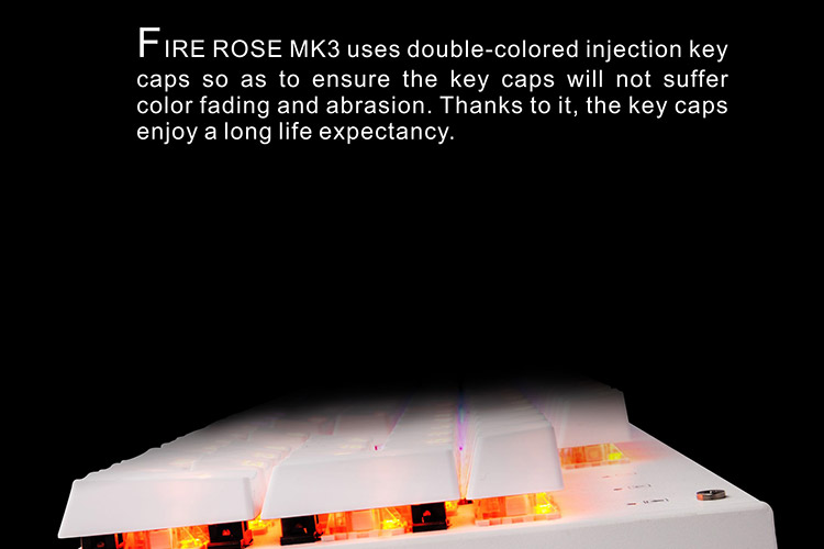 1stPlayer FIREROSE MK3 Mechanical Keyboard | Recensione