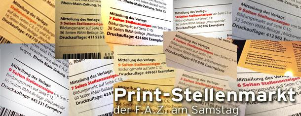 Print-Stellenmarkt