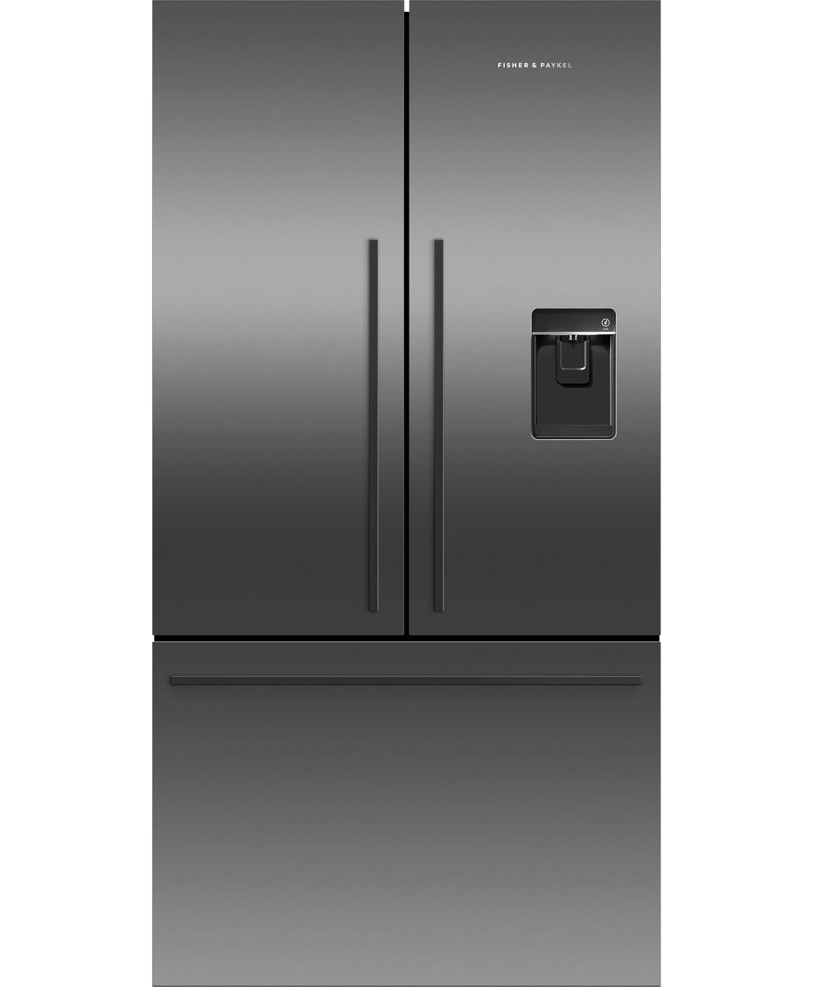 Reillys Home Appliances Fisher Paykel 610 L Black Steel French