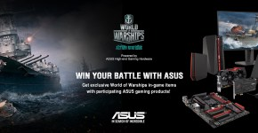 [PR] ASUS Announces World of Warships Exclusive Partnership