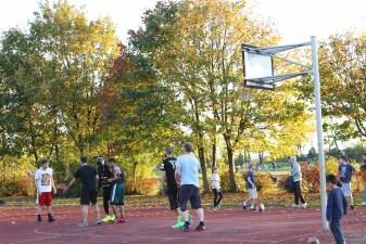 Canon 100d Flughafen Berlin Tempelhof Basketball