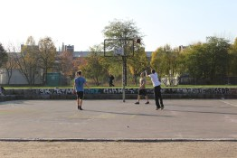 Basketball, Mauerpark, Berlin
