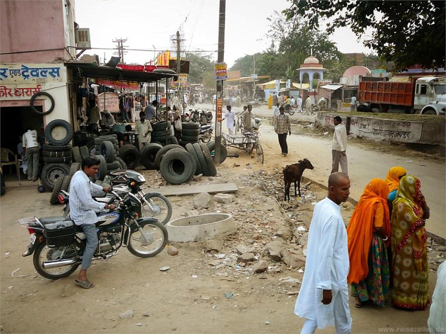 Indien - Reisetipps - Reisen - Rajasthan - Straßenszene