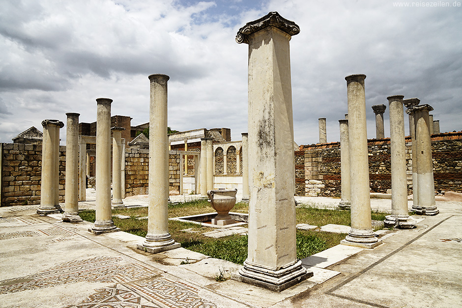 Türkei Reisebericht Reisetipps Sardes Synagoge