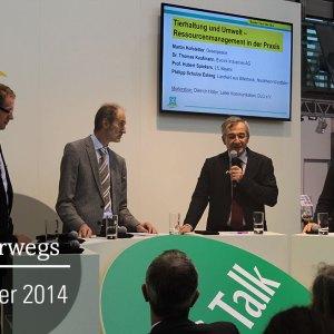 Foto DLG Talk auf der EuroTier in Hannvoer | Tierhaltung u. Umwelt