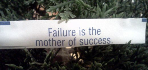 failuremotherofsuccess