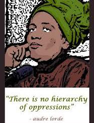 audre lorde no hierarchy of oppressions