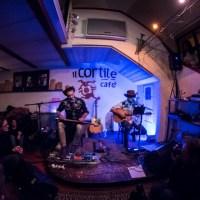 DISCOVERLAND (Roberto Angelini e Pier Cortese) + Paolo Doesn't Play With Us @ Cortile Cafè, Bologna (foto di Sabrina Campagna)