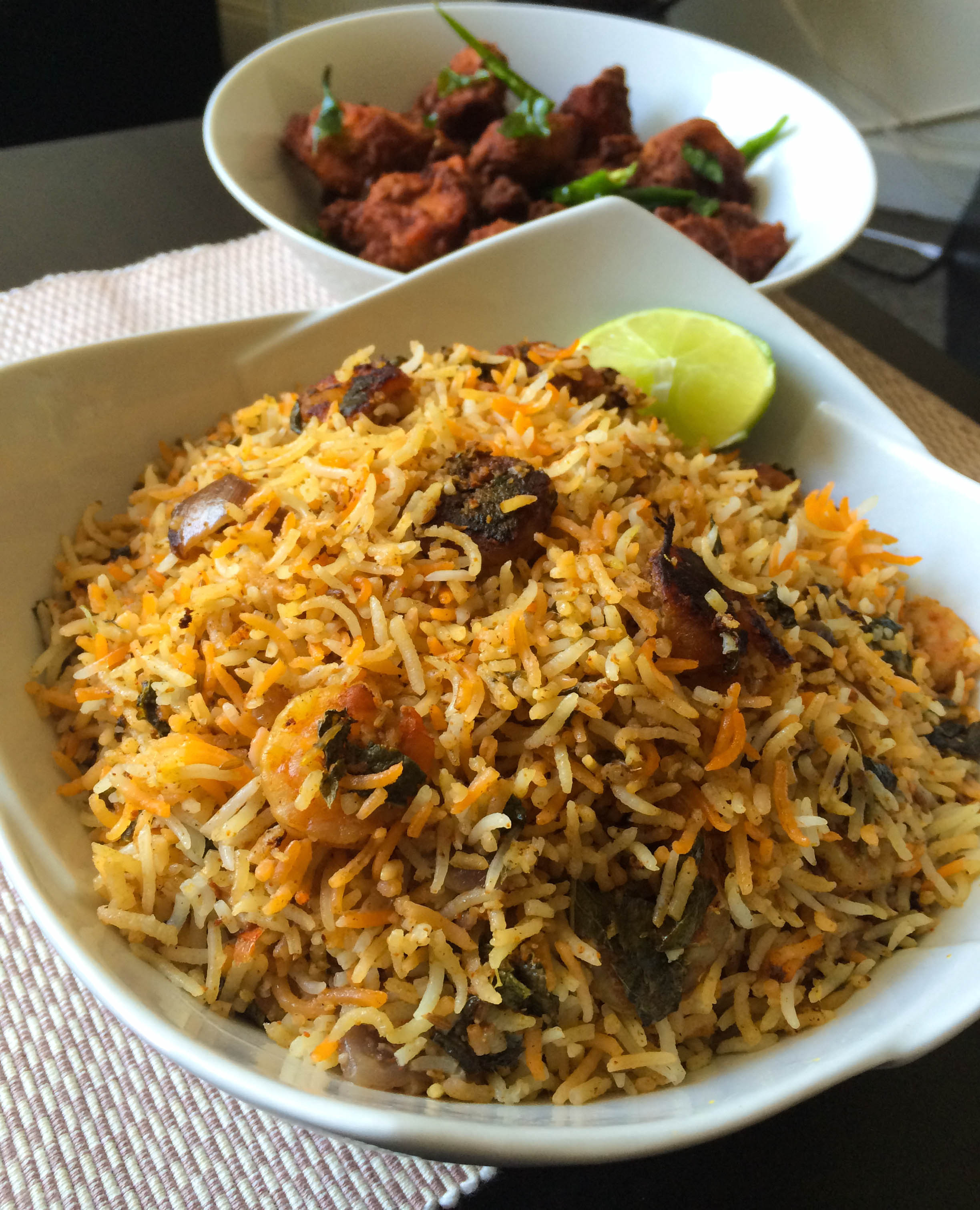 Shrimp Biryani / Prawn Biryani – Relish The Bite