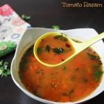 Tomato Dal Rasam/ Tomato Soup