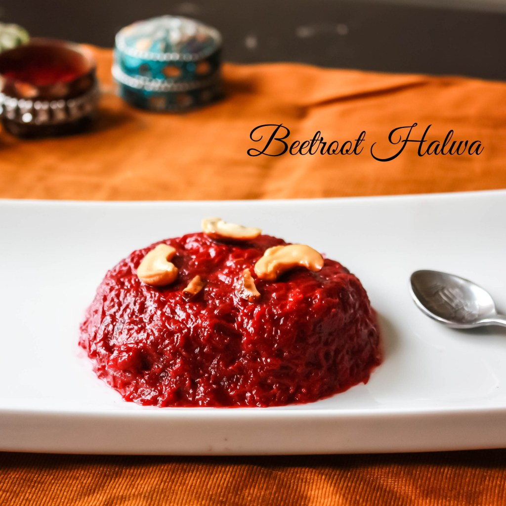 Beetroot halwa-name1