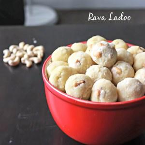 Rava Ladoo / Semolina Sweet