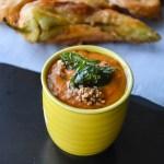 Spicy Onion tomato chutney/ Kara chutney