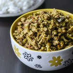 Cluster Beans Coconut Stir Fry/ Kothavarangai Poriyal