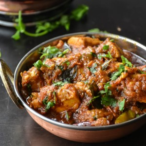 Madras chicken curry in 30 minutes