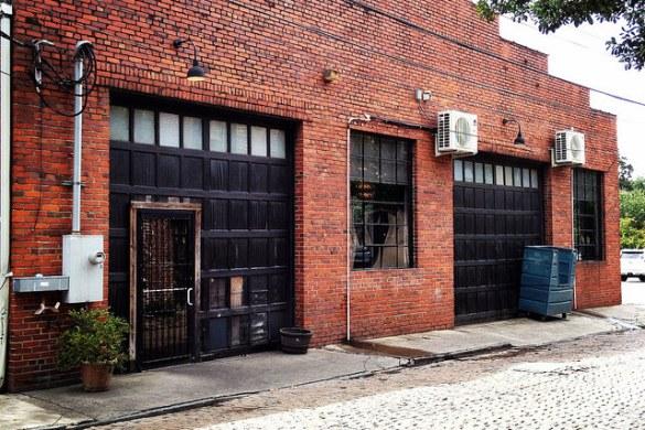 West Perry Lane brick warehouse, Savannah