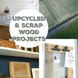 Remodelaholic 5 Reclaimed and Scrap Wood Projects