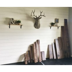 Grand How To Install A Shiplap Wall Rustic Home Office Makeover How To Install A Shiplap Wall Rustic Home Office Makeover Rustic Home Magazines home decor Rustic Home Magazines