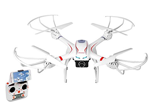 DBPOWER FPV WiFi RC Drone, Headless Mode, Support 3D VR