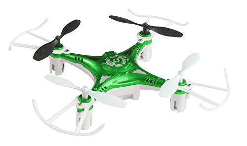 Space Rails 2.4 Ghz 4-Channel X7 Remote Control Quadcopter Drone with Lighting
