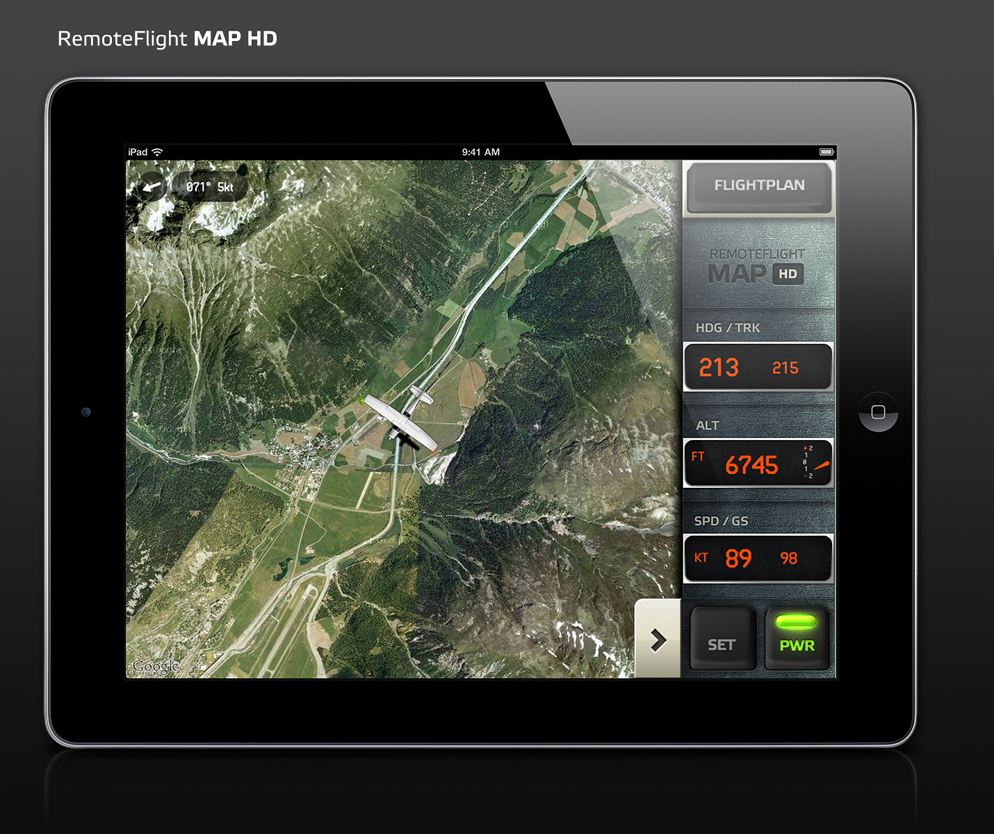 RemoteFlight   MAP HD for iPad View 100  resolutionProduct video