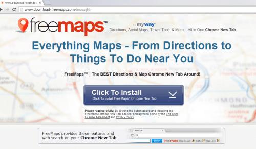 delete FreeMaps Toolbar