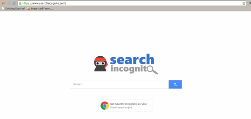 delete Search Incognito