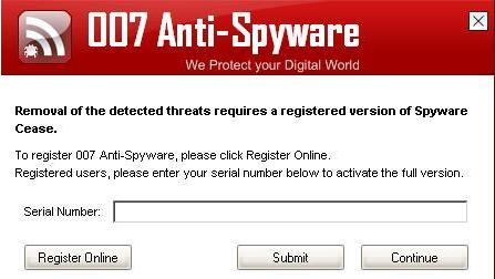 Remove007 Anti-Spyware