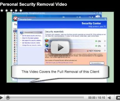 Personal Security Removal Video