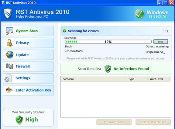 RST Antivirus 2010