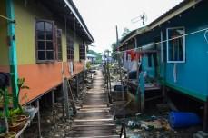 Buntal village pêcheurs